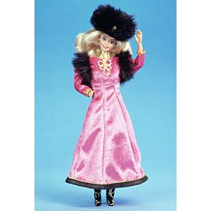 <em>Russian</em> Barbie® Doll 1st Edition