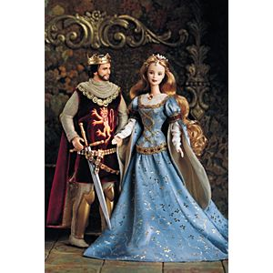 Ken® and Barbie® Doll as Camelot's King & Queen, Arthur and Guinevere