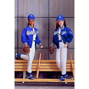 Los Angeles Dodgers™ Barbie® Doll (African-American)