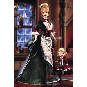 Victorian Holiday™ Barbie® and Kelly®