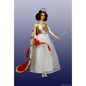 Walk Lively Miss America Doll #3200