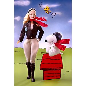 Barbie® Doll and Snoopy