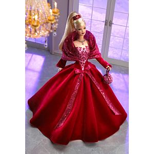 2002 Holiday Celebration™ Barbie™ Doll