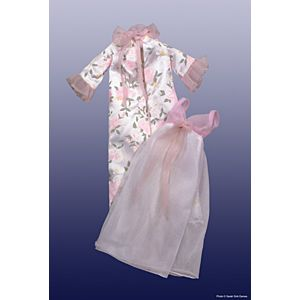 Satin Robe & Gown #8690