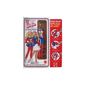 U.S. Olympic Wardrobe Barbie® Doll #9044