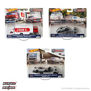 Hot Wheels Team Transport Mix E