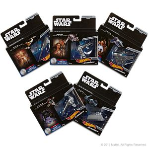 Hot  Wheels <em>Star Wars™</em> Starships Mix A