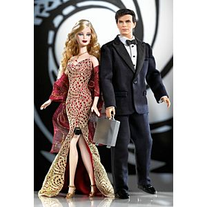 James Bond 007 Ken® and Barbie® Giftset