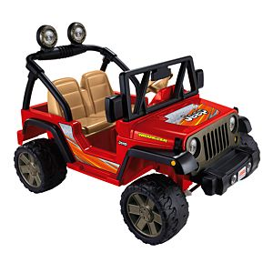 Power Wheels® Jeep® Wrangler