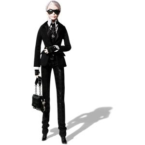 <em>Karl Lagerfeld</em> Barbie® Doll