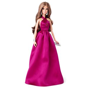 Red Carpet™ Barbie®—Magenta Gown
