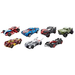 Hot Wheels® Marvel 1:64 Character Car Collection