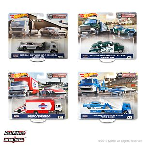 Hot Wheels Team Transport Mix F