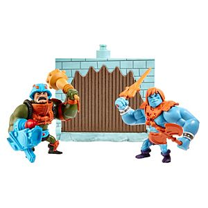 Masters of the Universe® Mini Faker® and Man-At-Arms® Figures