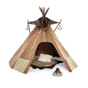 Kaya's Tepee and Bedroll