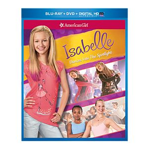 Isabelle Dances into the Spotlight Two-disc Blu-ray/DVD Combo Pack
