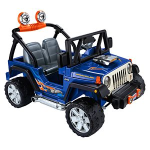 Power Wheels® Hot Wheels™ Jeep® Wrangler