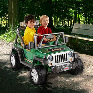 Power Wheels® Deluxe Jeep® Wrangler