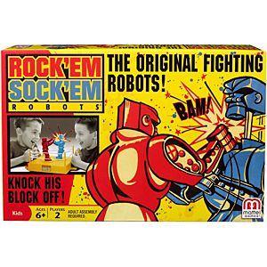 Rock 'Em Sock 'Em Robots™ Boxing Game for 2 Players Ages 6 Years and Older