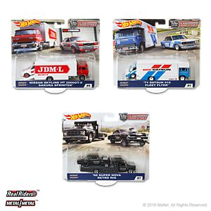 Hot Wheels Team Transport Mix C