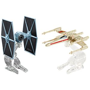 Hot Wheels® Star Wars™ 2 Car Pack -TIE Fighter and the Rebellion's X-Wing Red 2