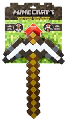 Minecraft Transforming Sword/Pickaxe | CGX34 | Mattel Shop