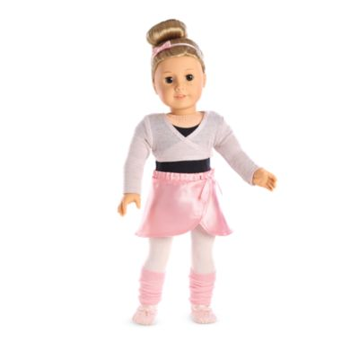 ee6a57ef45fdb Pretty Plie Ballet Outfit for 18-inch Dolls   American Girl