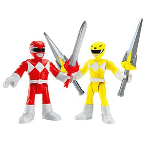 Imaginext® Power Rangers Red Ranger & Yellow Ranger