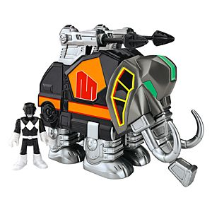 Imaginext® Power Rangers Black Ranger and Mastadon