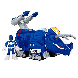 Imaginext® Power Rangers Blue Ranger and Triceratops