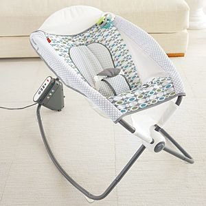 Auto Rock 'n Play™ Sleeper – Aqua Stone Fashion