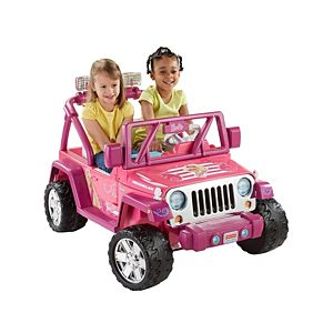 Power Wheels® Barbie™ Jeep® Wrangler
