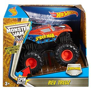 Hot Wheels® Monster Jam® Rev Tredz® Spiderman™ Vehicle