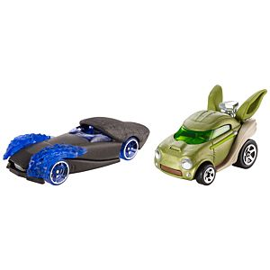 Hot Wheels® Star Wars™ 2 Car Pack - Emperor Palpatine™ vs. Yoda™