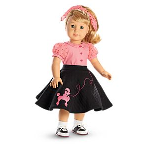 Maryellen's Poodle Skirt Outfit for 18-inch Dolls