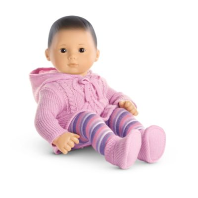 snuggly sweater outfit for bitty baby dolls american girl