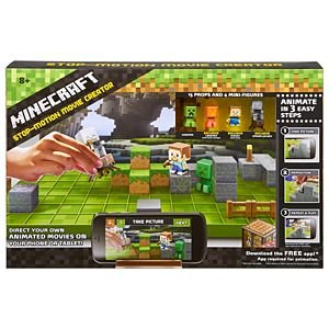 Minecraft Stop-Motion Movie Creator Kit