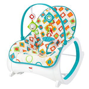 Infant-to-Toddler Rocker - Geo Diamonds