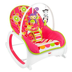Infant-to-Toddler Rocker - Floral Confetti