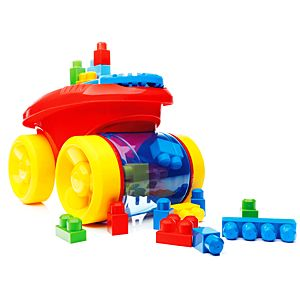First Builders® Block Scooping Wagon