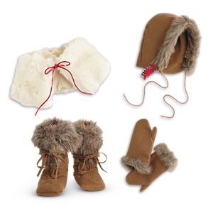 Kaya's Winter Accessories for 18-inch Dolls