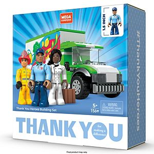 Mega Construx® Thank You Heroes Building Set
