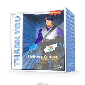 Fisher-Price® Thank You Heroes Special Edition Delivery Driver Figure