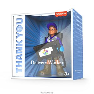 Fisher-Price® Thank You Heroes Delivery Edition Delivery Driver Figure
