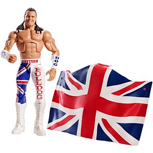 WWE® Elite Collection™ British Bulldog™ Figure
