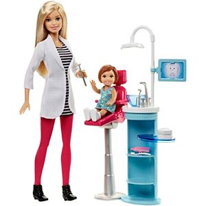 Barbie® Careers Dentist Doll & Playset