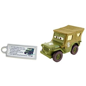 Disney•Pixar Cars Precision Series Sarge Die-Cast Vehicle