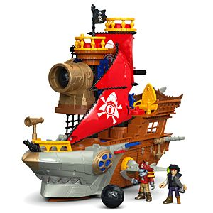 Imaginext® Shark Bite Pirate Ship
