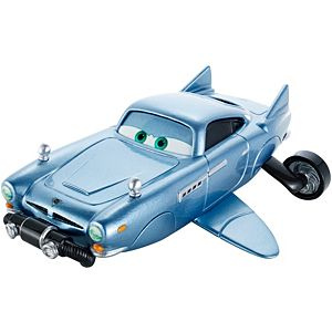 Disney Cars Finn Mcmissile With Breather Deluxe Die-Cast Vehicle