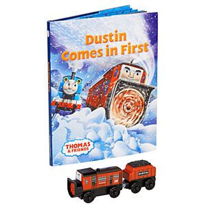 Thomas & Friends™ Wooden Railway Dustin Comes in First Book Pack